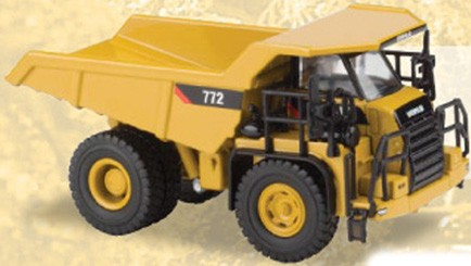 Cat 772 quarry truck 1/87
