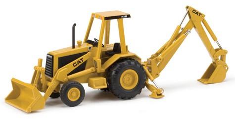 Cat 416 tractor backhoe loader