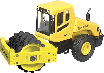 Bomag BW213 w/ cab sheep foot roller