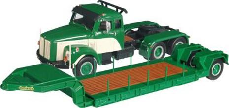 Scania LT110 w/Nooteboom single axle lowboy