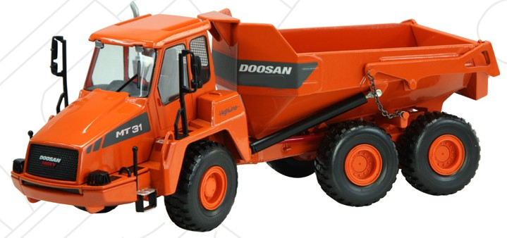 Doosan articulated dump truck