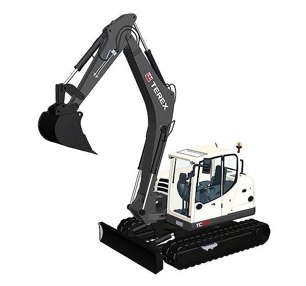 Terex TC 125 Excavator