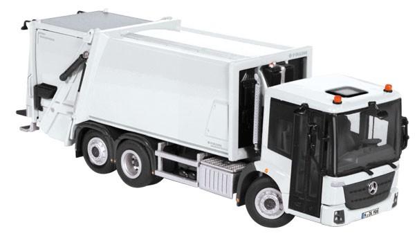 """Mercedes Econic/Faun Varlopress garbage truck """"White"""""""