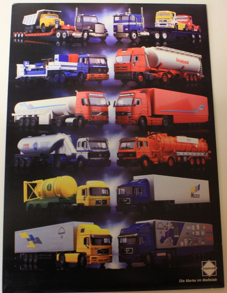 Poster of Conrad truck models