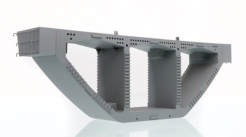 Precast Bridge Box Girder Crane Load with lifting kit