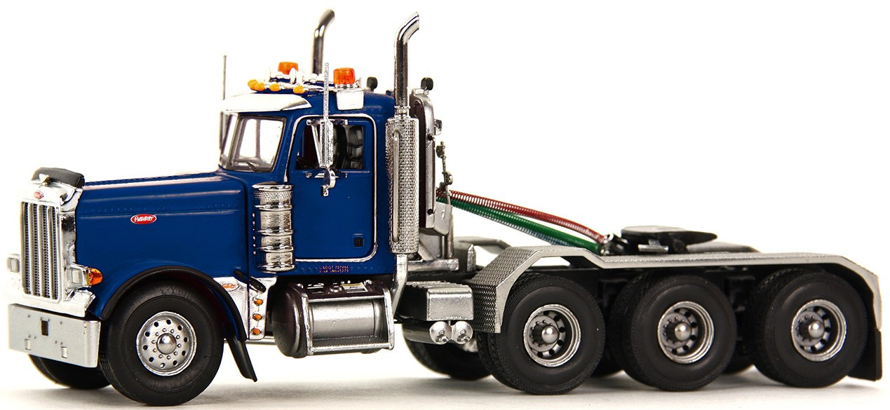 "Peterbilt 379 4 axle Tractor  ""Blue"""