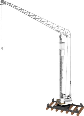 Liebherr F6 antique tower crane