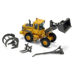 VOLVO L90E WHEEL LOADER WITH ATTACHMENTS
