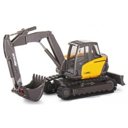 Mecalac 15MC Crawler Excavator with Offset Two-Piece Boom Attachment