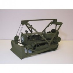 AMOC Caterpillar D4 2T with overhead cable blade-military version