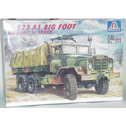 M 923 military transport truck model kit