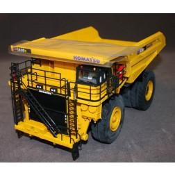Komatsu 830E AC quarry truck yellow