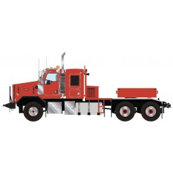 Kenworth C500B Heavy Tractor w/Ballast Box - Red