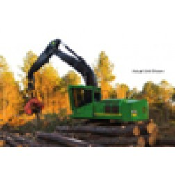 John Deere harvester w/624C head