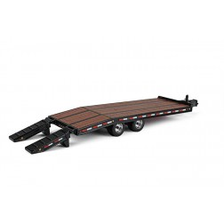 Beavertail trailer-Black