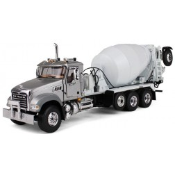 Mack Granite with McNeilus Bridgemaster Mixer Silver/White