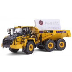 Komatsu HM400-5 Articulated Dump Truck with business card holder