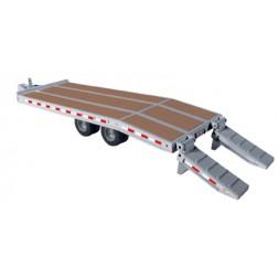 Beavertail trailer-Silver