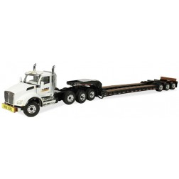"Kenworth T880 Tractor with 3 axle lowboy ""CASE  Construction"""