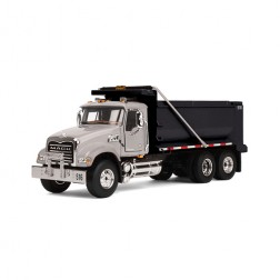 Mack Granite Dump Truck-Silver cab/Black body
