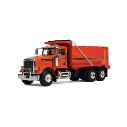 Peterbilt model 367 Dump Truck-Orange cab/Orange body