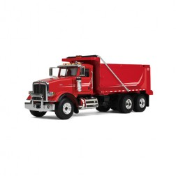 Peterbilt model 367 Dump Truck-Red cab/Red body