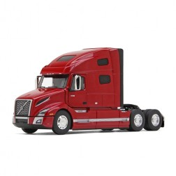 Volvo VNL 760 Sleeper Cab-Red