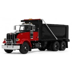 Peterbilt Model 367 Dump Truck-Black/Red