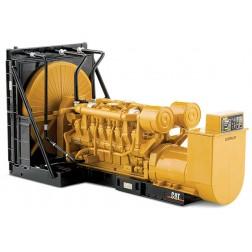 Caterpillar 3516 engine generator set on skid