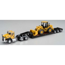Caterpillar CT660 Truck w/Lowboy & 950H Loader