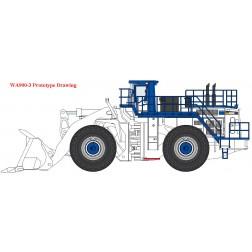 Komatsu WA900-3 Wheel Loader White Version