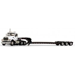 Mack Granite with Tri-Axle Lowboy Trailer