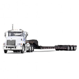 Mack Pinnacle with Tri-Axle Lowboy Trailer