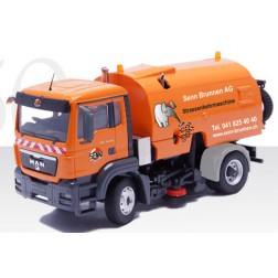 MAN TGS M with Bucher Cityfant 6000 roadsweeper