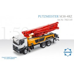 Mercedes Arocs w/Putzmeister M38-5RZ Concrete Pump