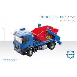 MERCEDES AROCS WITH MEILLER SKIP LOADER