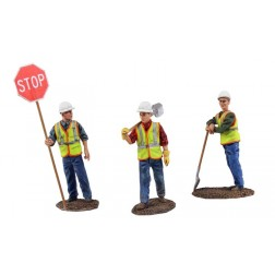 Metal Construction Figures