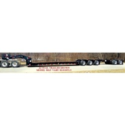 XL 120 LOW-PROFILE DETACHABLE GOOSENECK TRAILER