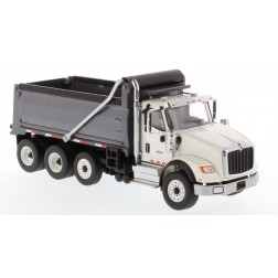 International HX620 Dump Truck in White with Gun Metal Grey Bed-PREORDER