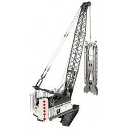 """Liebherr HS 8100 HD Hydraulic Crawler Crane with Slurry Wall Grab-""""IMPLENIA"""""""