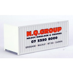 """""""N.Q. Group"""" 20 foot sea container"""