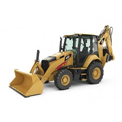 Cat 416F2 Backhoe Loader-Classic Construction Models Contractor Collection Series-Production date to be determined