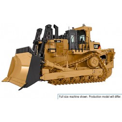 Caterpillar D10t2 with U-blade and multi (3) shank ripper