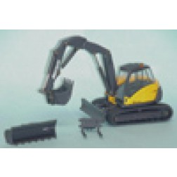 Mecalac 714MC mulit purpose crawler excavator