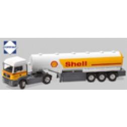Willig 3 axle tanker trailer w/ MAN TGA M tractor
