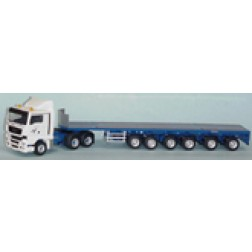Goldhofer SPZ DL6 6 axle trailer/ MAN TGX tractor