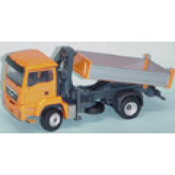 MAN TGS M 4X4 truck w/self loading crane