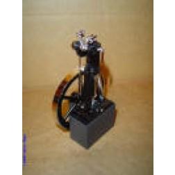 Model of Rudolph Diesel's first engine