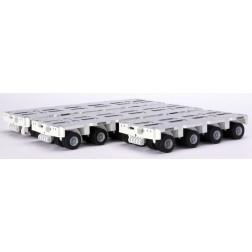 WHITE GOLDHOFER MODULAR TRAILER-16 AXLES