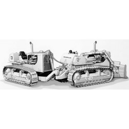 "Cat® DD9G Push Dozer with Dual D9 Tractors – Die-cast--""SOLD OUT"""